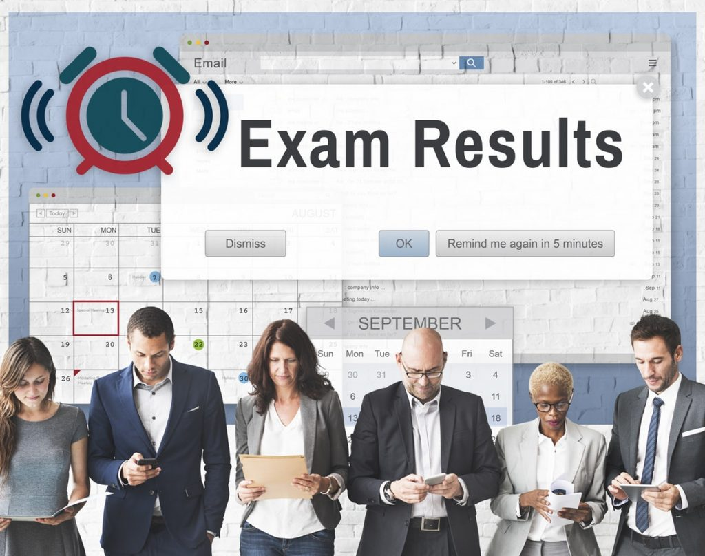 Exam Results graphic